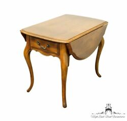 Ethan Allen Country French Collection 36 Drop-leaf Accent End Table 26-8302