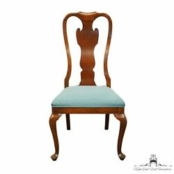 Drexel Heritage Solid Cherry Traditional Queen Anne Style Dining Side Chair 1...