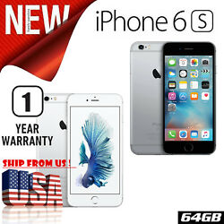 Sealed Apple Iphone 6s 64gb Unlocked Gray Silver Atandt T-mobile - 1 Year Warranty