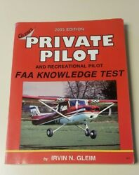 2005 Gleimand039s Private Pilot / Recreational Pilot Faa Knowledge-pre-owned
