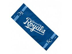 Kansas City Royals Wincraft Blue White Logo Official Cooling Towel 12 X 30