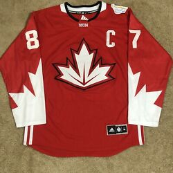 Adidas Sidney Crosby Team Canada Wcoh World Cup Of Hockey Jersey Red Home M