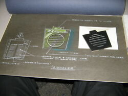 Pf Flyer Outer Space Signal Decoder Morse Code Original Art And Prototype Premium