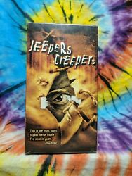 Jeepers Creepers Vhs, 2002 Brand New, Sealed Modern Horror Classic