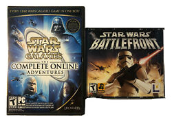 Star Wars Galaxies The Complete Online Adventures Pc W Bonus Dvd And Battlefront