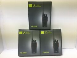 Commercial Uhf Gmrs-frs Uhf Programmed Two Way Radio