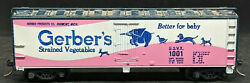 Tyco Ho Scale Model Trains Gerbers Baby Food Boxcar Reefer 1001 - Vintage