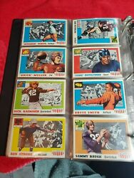 1955 Topps All American Football Set Complete 100 Cards Clean Set Avg Ex+