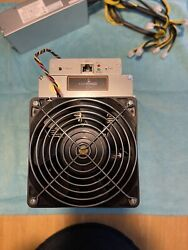 Bitmain Antminer L3 504 Mh/s With Power Supply Free Shipping.