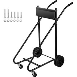 Vevor 350lbs Outboard Boat Motor Stand Carrier Cart With Wheel Enginee Carrier