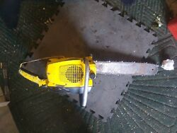 Mcculloch Chainsaw Super 10-10 For Parts Or Repair Turns Over Nice