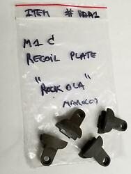 Us Gi M1 Carbine Recoil Plate Marked Rock-ola Item Rola-1