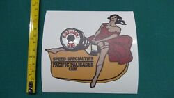 Giovanni Cams Decal Speed Specialties Hot Rod Flathead Pinup Scta 5 X 4