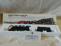 Bachmann 0650 Ho Reading 2019 2-8-0 Consolidation With Smoke Vintage