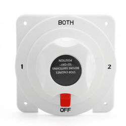 High-power Rv And Yacht Power-off Switch Dual Battery Selector Switch Marine