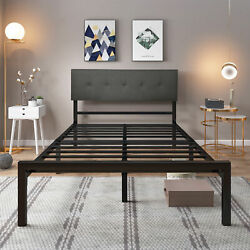Yitahome Full/queen Size Metal Platform Bed Frame Heavy Duty Mattress Foundation