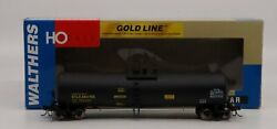 Walthers 932-7276 Ho Scale Gold Line Utlx Funnel Flow Tank Car 664755 Ln/box