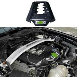 5.0t Carbon Fiber Engine Hood Radiating Protection Cover For Ford Mustang 15-17