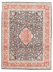 Vintage Geometric Hand-knotted Carpet 9and0392 X 12and0394 Traditional Wool Area Rug