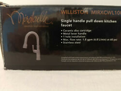 Mirabelle Mirxcwl100mss Williston 1.8 Gpm 1 Hole Pull-down Kitchen - Stainless