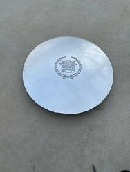 One 98-05 Cadillac Deville Limousine Hearse Chrome Center Cap Used - Read Bel.