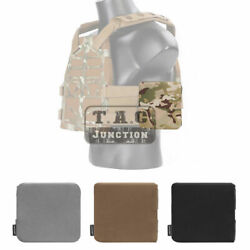 """Emerson Side Plate Pouch Carrier Pocket Set For Sands Precision Plate Frame 6""""x6"""""""