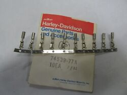 Nos Nos Harley Davidson 49andrsquo To 84andrsquo Nos Contact Socket 74539-77a Sold As 10