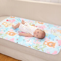 Waterproof Changing Mat Cover Diaper Pad For Infant Bed Crib Sleeping