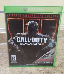 Call Of Duty Black Ops Iii Zombies Chronicles Edition Xbox One 2017
