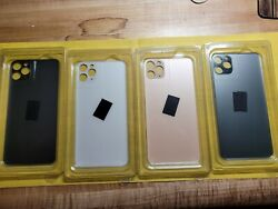 Wholesale Lot - 4 Pieces - Iphone 11 Pro Max - Big Hole Rear Glass - Replacement