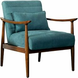 Coaster Home Furnishings Co-905572 Accent Chair Grey-teal/walnut