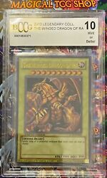 Yugioh Winged Dragon Of Ra Ultra Rare Legendary Collection Lc01-en003 Bccg 10