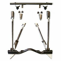 55-57 Chevy Tri-five Triangulated 4-link Bracket Only Kit Rear Suspension Parts