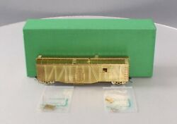 Overland 3008 Ho Scale Brass Union Pacific Tool Car - Unpainted Ex/box