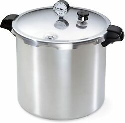 Presto 23 Quart Pressure Canner Cooker With Canning Rack 01781 New
