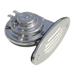 Schmitt And Ongaro Mini Ss Single Drop-in Horn W/ss Grill - 12v Low Pitch