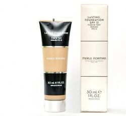 Brand New Merle Norman Lasting Foundation Spf12 Makeup Choose Color Fast Ship
