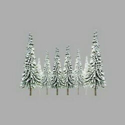 Jtt Scenery Products 92008 O 6-10 Snow Pine Scenic Trees Pack Of 12