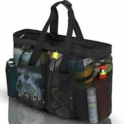 Bulex Extra Large Beach Bags and Totes XXL Mesh Tote Bag with Pockets amp;amp; $20.67