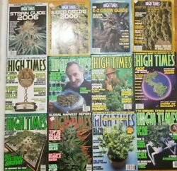High Times Magazine Lot Of 23 1997-2007 Include 4 Collector's 2006-2007