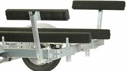 2 Pack Boat Bunk Trailer Guide 2 Ft Pads Ce Smith Board Kit Carpeted Side Pair