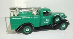 Liberty Classics Die Cast 1936 Dodge Emergency Services Division Police Squad Ny