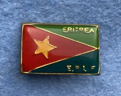 Pin Badge Eritrean Peopleand039s Liberation Front Eplf 1970and039s Flag Eritrea Africa