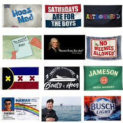 3x5Ft Flags Banners amp; Posters For Garage College Dorm Room Frat Man cave Wall US
