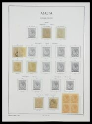 Lot 33968 Stamp Collection Malta 1861-2001.
