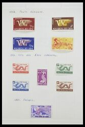 Lot 33914 Stamp Collection French Colonies In Asia 1951-1975.