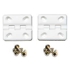 Cooler Shield Replacement Hinge F/coleman And Rubbermaid Coolers - 2 Pack