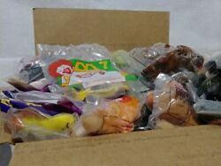 Mcdonalds Happy Meal Toy Lot 75+ Vintage-now All New Sealed Star Wars Shrek Ty