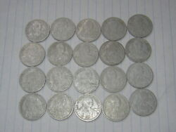 20 Pcs X 20 Cent French Indochina Coins 1945 See Photos B390