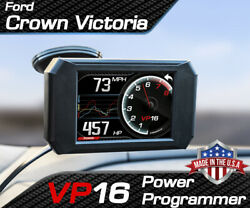 Volo Chip Vp16 Power Programmer Performance Tuner For Ford Crown Victoria
